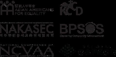 Several logos of collaborating organizations in CreditSmart Asian